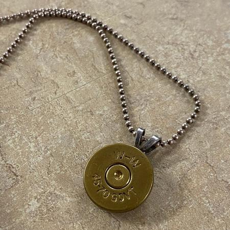 SPENT ROUNDS 45-70 NECKLACE