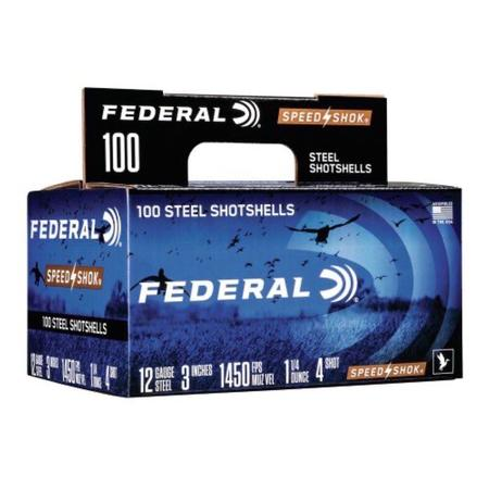 FEDERAL SPEED-SHOK 12 GA 3`` 100PK