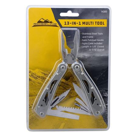 FOT 13-IN-1 MULTI-TOOL W/ SHEATH
