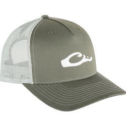 DRAKE 5-PANEL SLICK LOGO CAP GREEN/LIGHT_GREEN