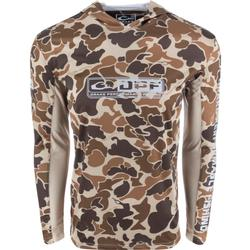 DRAKE DPF SHIELD LIGHTWEIGHT PERFORMANCE CAMO HOODIE OLD_SCHOOL