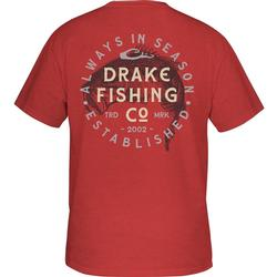 DRAKE DPF VINTAGE BASS S/S T RED_HEATHER