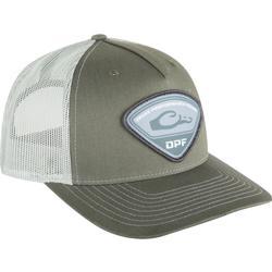DRAKE DPF RICHARDSON TRI-PATCH CAP ARMY_OLIVE/TAN