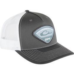 DRAKE DPF RICHARDSON TRI-PATCH CAP CHARCOAL/WHITE