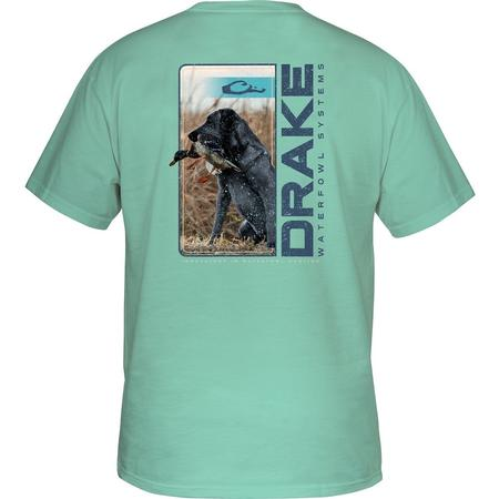 DRAKE LIVE RETRIEVE S/S T