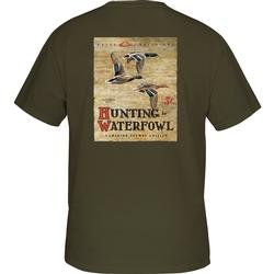 DRAKE HUNTING WATERFOWL S/S T ARMY_GREEN