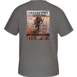 DRAKE WATERFOWL HUNTING S/S T GRAPHITE_HEATHER