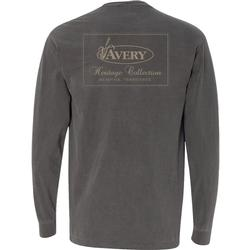 AVERY HERITAGE L/S TEE PEPPER