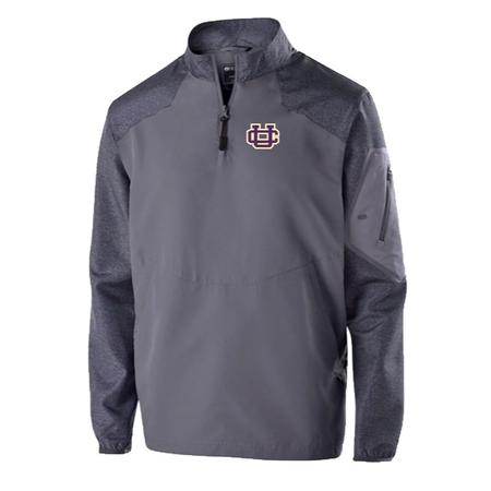 ADULT HOLLOWAY RAIDER 1/4 ZIP PULLOVER WITH EMBROIDERY