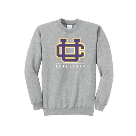 YOUTH PORT AND COMPANY CORE FLEECE CREW NECK