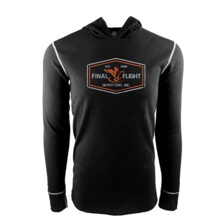 FLIGHT PATCH LOGO THERMAL HOODIE