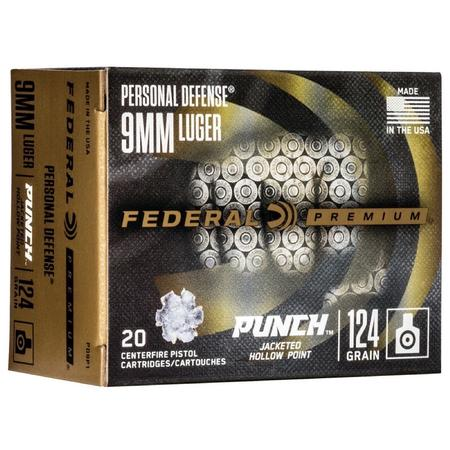FED PUNCH PERSONAL DEFENSE AMMO