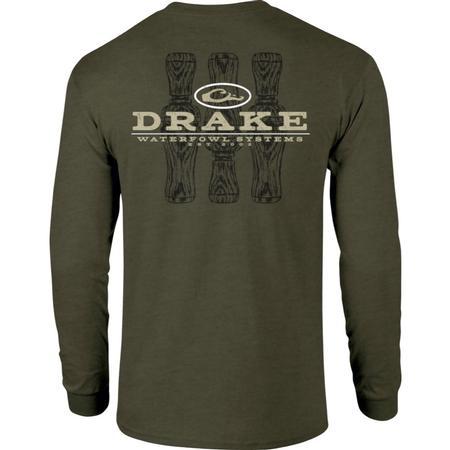 DRAKE TRI-CALL L/S T