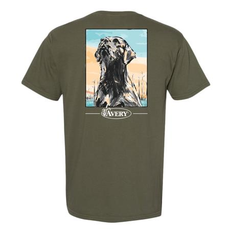 AVERY PAINTED LAB S/S TEE