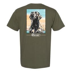 AVERY PAINTED LAB S/S TEE SAGE