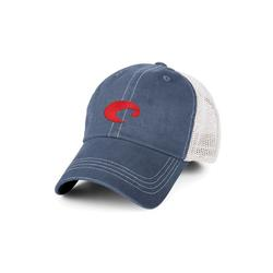 COSTA MESH HAT SLATEBLUE/WH