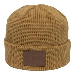 BANDED WORKER GUY KNIT STOCKING CAP BRONZE