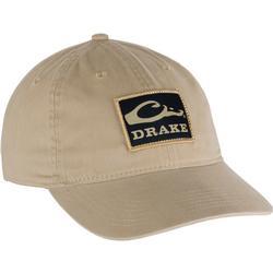DRAKE COTTON TWILL PATCH CAP KHAKI