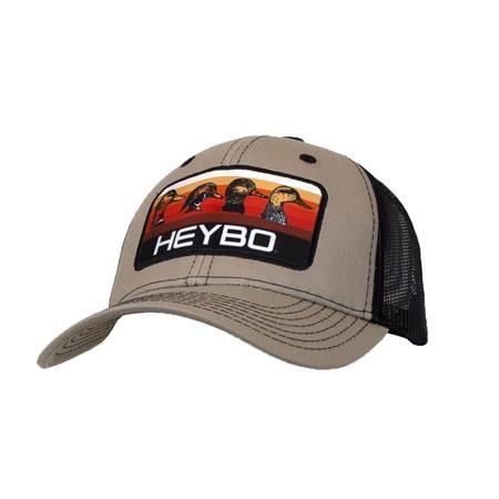 HEYBO DUCKHEAD SUNRISE PATCH HAT