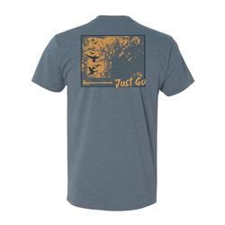 BANDED SHADOWS OF THE TIMBER S/S TEE INDIGO