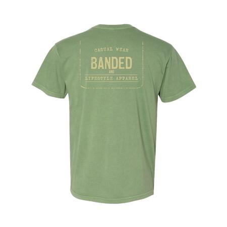 BANDED LIFESTYLE FADED TAG S/S TEE
