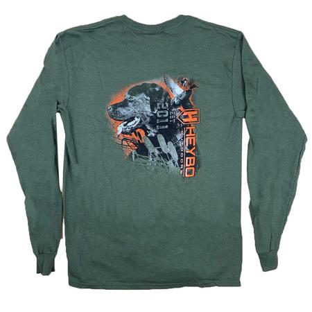 HEYBO LAB IN CATTAILS L/S TEE