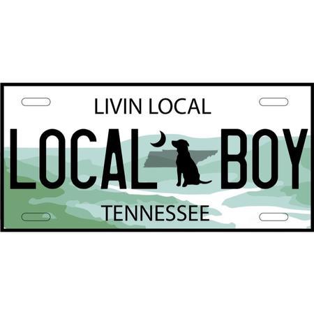 LOCAL BOY TN STATE BEACH TOWEL