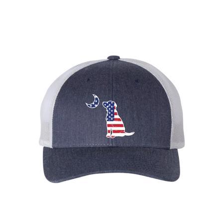 LOCAL BOY AMERICAN LAB TRUCKER HAT