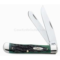 CASE BERMUDA GREEN KNIFE TRAPPER