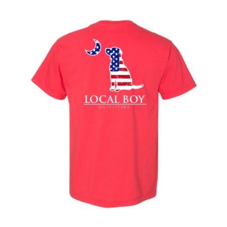 LOCAL BOY AMERICAN LAB S/S TEE