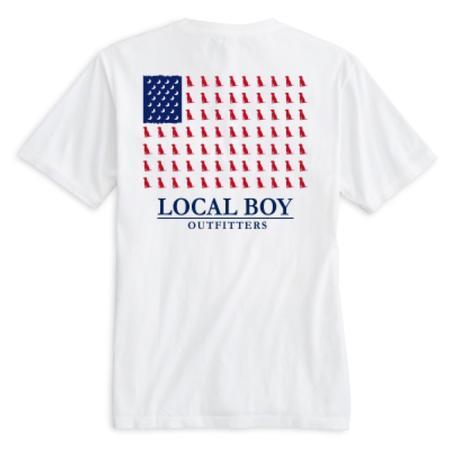 LOCAL BOY LAB FLAG S/S TEE
