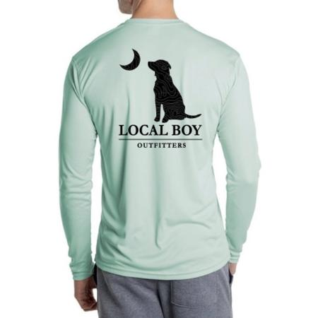 LOCAL BOY PERFORMANCE TOPO DOG AND MOON L/S