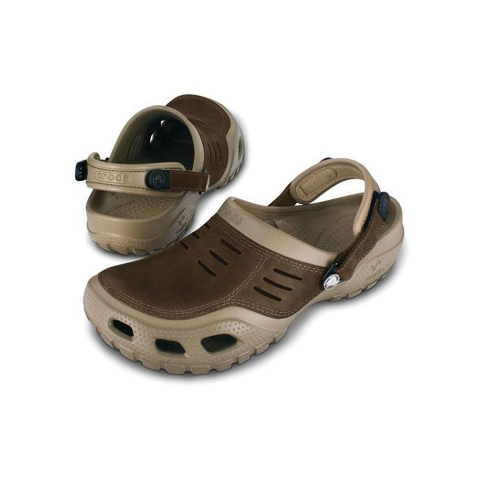 8eea8adf9 CROCS YUKON SPORT SHOES KHAKI COFFEE.