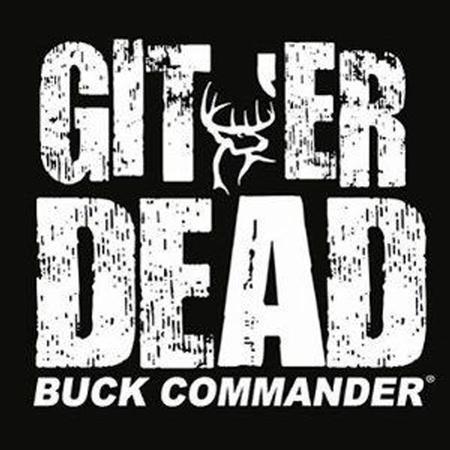 BUCK COMMANDER GITER DEAD DECAL