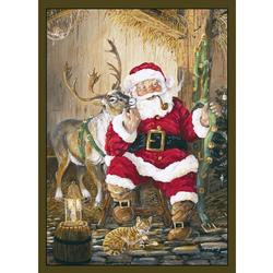 CUSTOM PRINTED RUGS SANTA