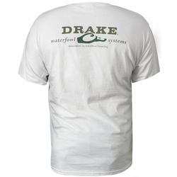 DRAKE LOGO T-SHIRT S/S WHITE