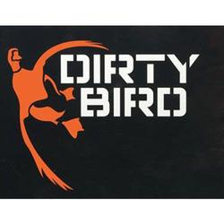 BROWNING DIRTY BIRD DECAL WHITE/PINK
