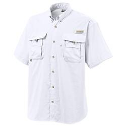 COLUMBIA BAHAMA II S/S SHIRT WHITE