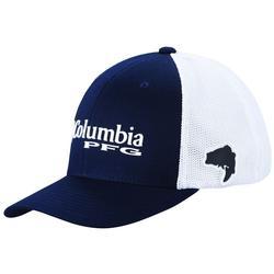 COLUMBIA PFG MESH BALL CAP COLLEGIATE_NAVY