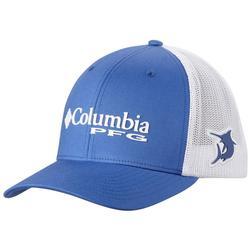COLUMBIA PFG MESH BALL CAP VIVID_BLUE