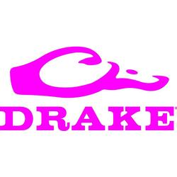 DRAKE LARGE WINDOW DECAL PINK