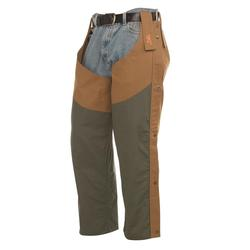 BROWNING CANVAS UPLAND CHAPS BROWN