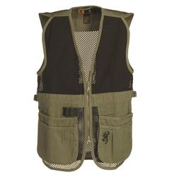 BROWNING JR. MESH SHOOTING VEST BLACK/TAN