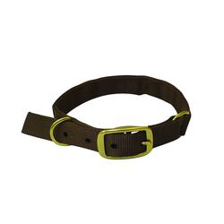 DRAKE GUN DOG SPLIT RING COLLAR BROWN