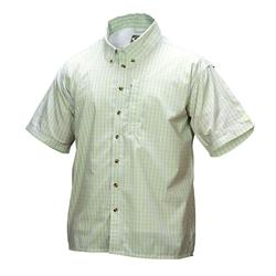 DRAKE S/S VENTED DELTA SHIRT SEA_GREEN