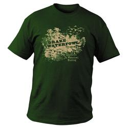 DRAKE HONEY HOLE T-SHIRT S/S FOREST_GREEN