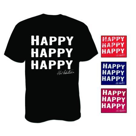 DUCK COMMANDER HAPPY S/S T-S
