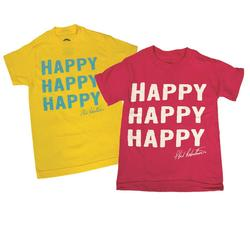 DUCK COMMANDER YOUTH HAPPY T-S YELLOW