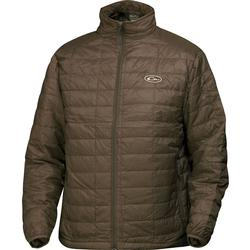 DRAKE MST SYNTHETIC DOWN PAC JACKET BROWN