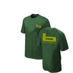 BANDED TRADITIONAL S/S T-S OD_GREEN